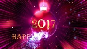 Jouet du ` s de nouvelle année sur un fond lilas clips vidéos