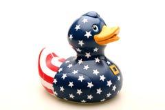 jouet en caoutchouc de canard photos libres de droits