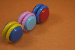 Jouet en plastique coloré Image libre de droits