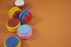 Jouet en plastique coloré Photo libre de droits