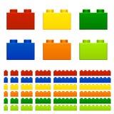 Jouet en plastique de briques d'enfants illustration de vecteur