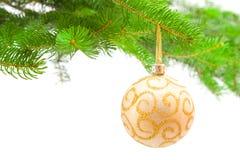 Jouet et arbre de Noël Image libre de droits