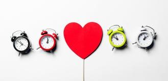 Jouet et horloges Photo libre de droits
