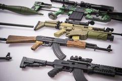 Jouet militaire d'armes à feu Image libre de droits