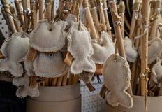 Jouet mou de coton pour l'animal familier Image stock