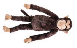 Jouet mou de singe Photo stock