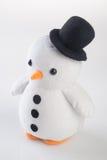 jouet ou pingouins faits main drôles de jouet sur le fond Photos libres de droits