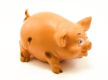 Jouet porcin Photographie stock libre de droits