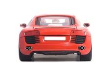 Jouet rouge de voiture Photo stock