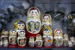 Jouet russe - babushka photographie stock libre de droits