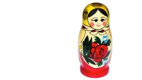 Jouet russe de poupée Photo libre de droits
