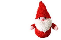 Jouet tricoté B de Christmas de père Image libre de droits