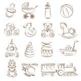 Jouets illustration de vecteur