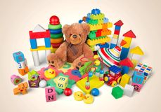 Jouets photographie stock