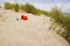 jouets arénacés de plage images libres de droits