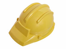Jouets : Casque jaune de construction photos stock