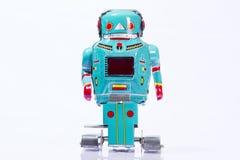 Jouets classiques de robot photo stock