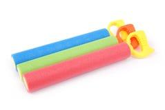 Jouets colorés de l'eau d'enfants Image libre de droits