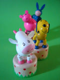 Jouets d'animal de ferme Photos stock