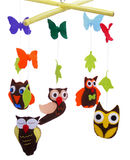 Jouets d'animaux - hibou Image stock