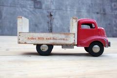 Jouets de camionnette de livraison Photos stock