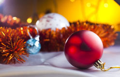 Jouets de Christmass Photographie stock