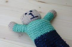 Jouets de crochet Photos stock