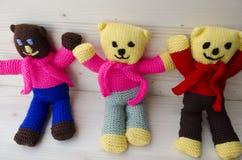 Jouets de crochet Images stock