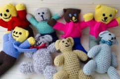Jouets de crochet Image stock