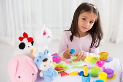 Jouets de Girl's Photographie stock
