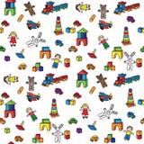 Jouets de jardin d'enfants Image libre de droits