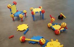 Jouets de jeu de Lego Photographie stock libre de droits