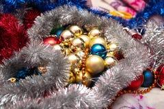 Jouets de Noël Images libres de droits