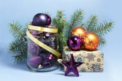 Jouets de Noël Photos libres de droits