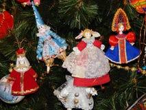 Jouets de Noël comme fond Photos stock