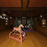 jouets de Noël du rendu 3D Images libres de droits