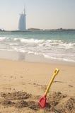Jouets de plage Photos stock