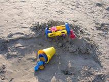 Jouets de plage image stock