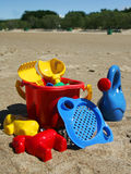 Jouets de plage Photo stock