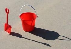 Jouets de plage photographie stock libre de droits