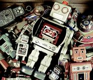 Jouets de robot photos stock