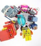 jouets de robot Photographie stock libre de droits