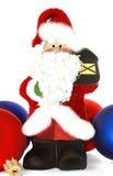 Jouets de Santa Claus et de Noël Image stock