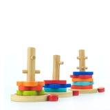 Jouets en bois Photo libre de droits