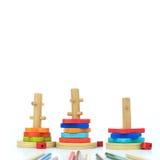 Jouets en bois Image stock