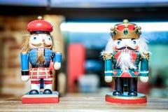 Jouets en bois de Jack et de roi photographie stock libre de droits