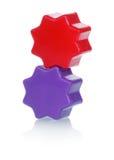 jouets en plastique colorés Photographie stock