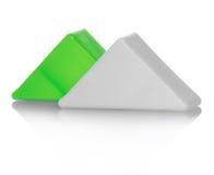 jouets en plastique colorés Images stock