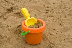 Jouets en sable Photographie stock libre de droits