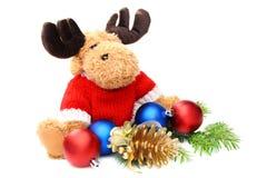 Jouets et billes mous de Noël. photo libre de droits